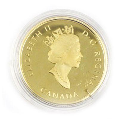 Une monnaie 100 dollars du Canada Découverte...