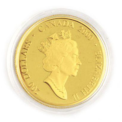 Une monnaie 200 dollars du Canada Mère et...