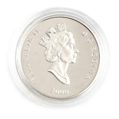 Une monnaie de 150 dollars du Canada Chevreuils,...