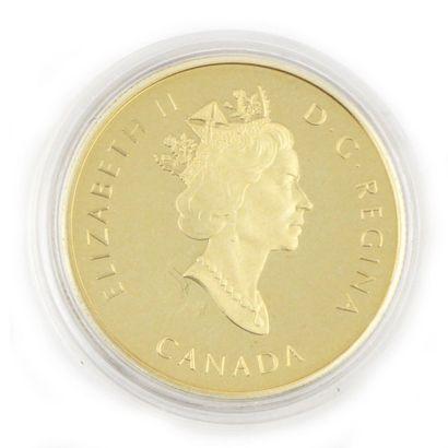 Une monnaie 100 dollars du Canada Centenaire...