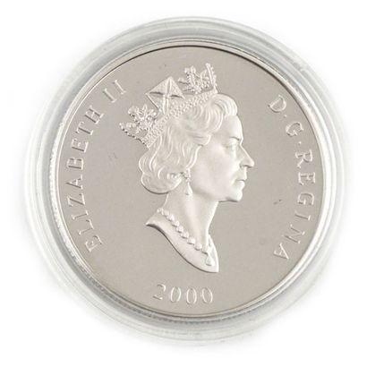 Une monnaie en platine 0,9995 du Canada Chevreuils...
