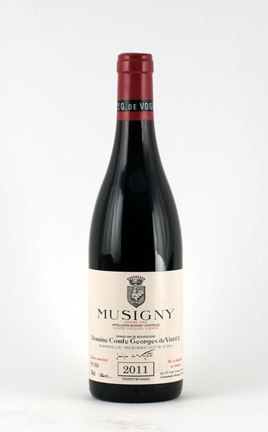 Musigny Grand Cru Cuvée Vieilles Vignes 2011...