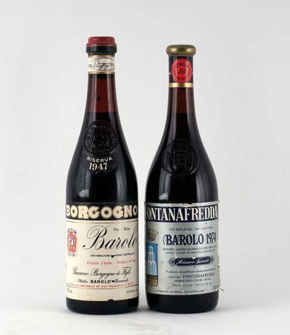 Borgogno Riserva 1947  Barolo D.O.C.G.  Niveau...