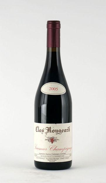 Clos Rougeard 2005  Saumur Champigny Appellation...