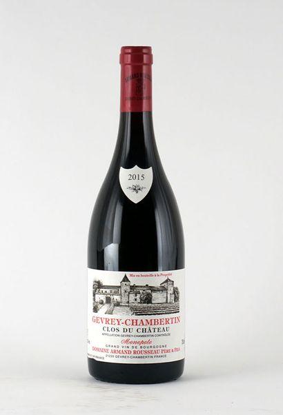 Gevrey Chambertin Clos du Château Monopole...