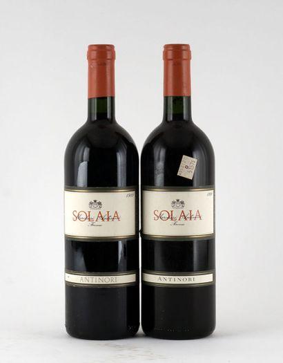Solaia 1989  Vino da Tavola  Niveau A  1...
