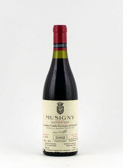Musigny Grand Cru Cuvée Vieilles Vignes 1992...