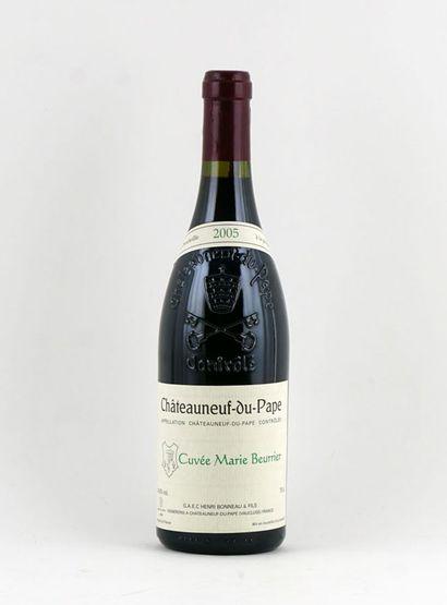 Cuvée Marie-Beurrier 2005  Chateauneuf-du-pape...