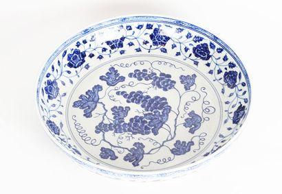 GRANDE ASSIETTE  Grande assiette blanche...