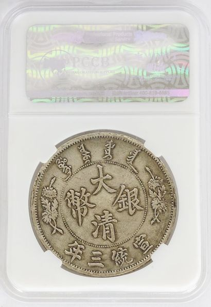 Chinese Dragon Coin in its case.  Poids : 26.93g