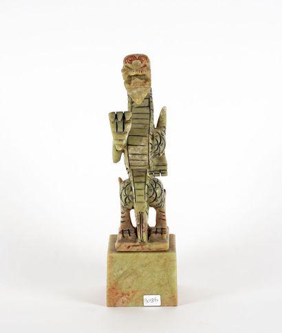 STATUETTE  Statuette chinoise moderne en...