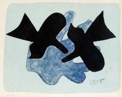 BRAQUE, Georges (1882-1963)  Pelias et Nelée...