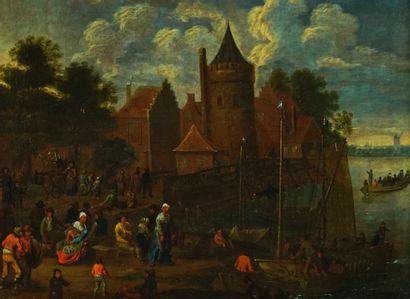 Attribué à Mathys SCHOEVAERDTS (c.1663-c.1703)...