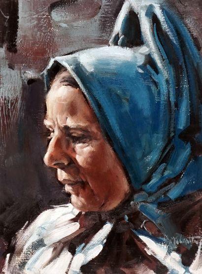 MACGRATH, Clarence (1938-2007)  Femme au...