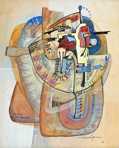 MANRIQUE ARIAS, Daniel (1939-2010)