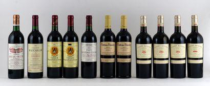 Sélection de Vins de Bordeaux comprenant:...