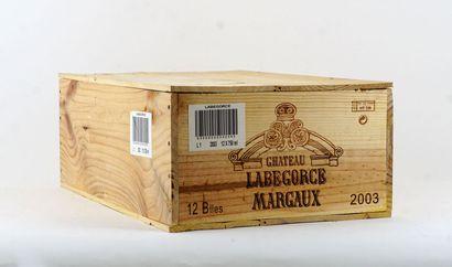 Château Labegorce 2003  Margaux Appellation...