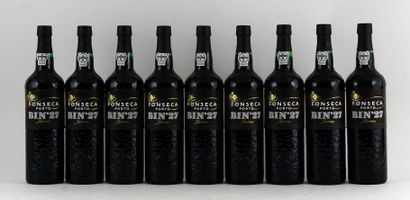 Fonseca Bin 27  Niveau A  9 bouteilles