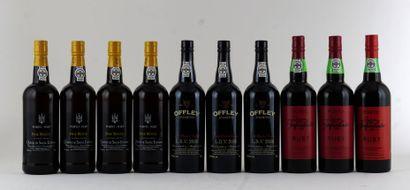 Offley LBV 2000  Niveau A  3 bouteilles  ...