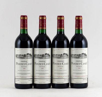 Château Pontet-Canet 1990  Pauillac Appellation...
