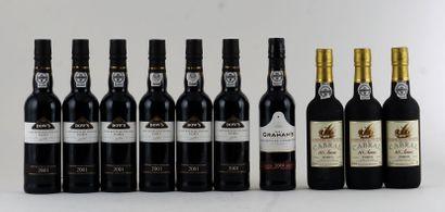 Garaham's LBV 2001  Niveau A  1 bouteille...