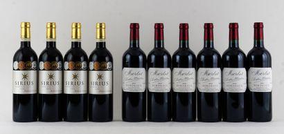 Sirius 2004  Bordeaux Appellation Contrôlée...