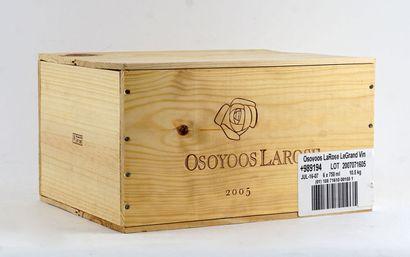 Osoyoos Larose le Grand Vin 2005  Okanagan...