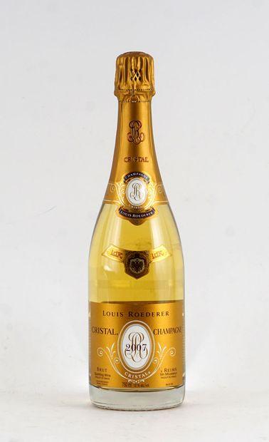 Louis Roederer Cristal 2007  Champagne Appellation...