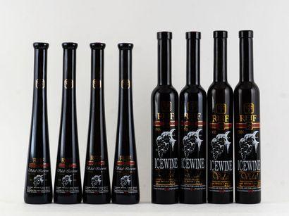 Sélection de Vins de Glace comprenant:  ...
