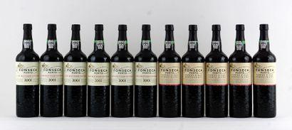 Fonseca LBV 2001  Niveau A  6 bouteilles...