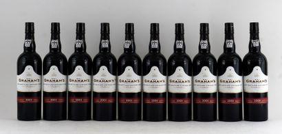 Graham's LBV 2001  Niveau A  10 bouteill...