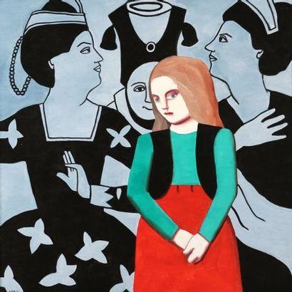 SCOTT, Louise (1936-2007)  Sans titre - Jeune...