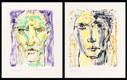 BEAULIEU, Paul Vanier (1910-1996)  Portraits...