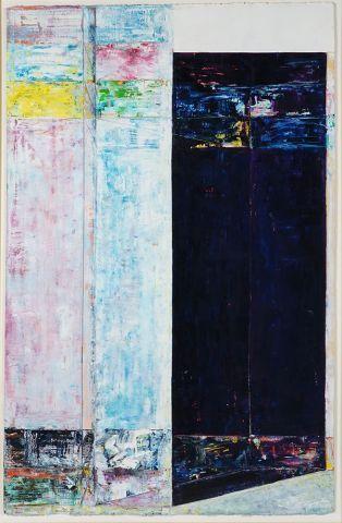 ROBLIN, Richard (1940-)  Sans titre  Acrylique...