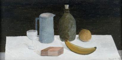 EAST, Benoît (1915-2016)  Nature morte  Huile...