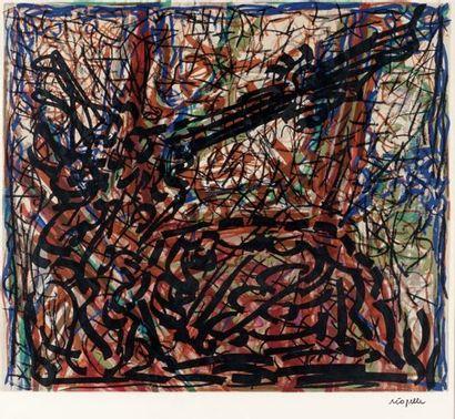 RIOPELLE, Jean-Paul (1923-2002)  Sans titre...