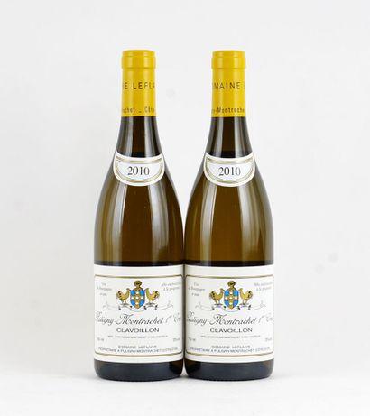 Puligny-Montrachet 1er Cru Clavoillon 2010...