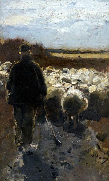 MAUVE, Anton (1838-1888)  Sans titre - Pastorale...