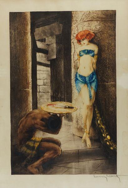ICART, Louis (1888-1950)  Salome (1929)  Eau-forte...