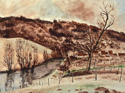 DUNOYER DE SEGONZAC, André Albert Marie (1884-1974)