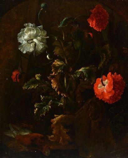 BISSCHOP, Abraham (1670-1731) Bouquet de...