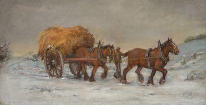 CONSTABLE, Jane Bennett (1865-?) Le travail...
