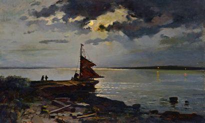 HUOT, Charles-Edouard-Masson (1855-1930)...
