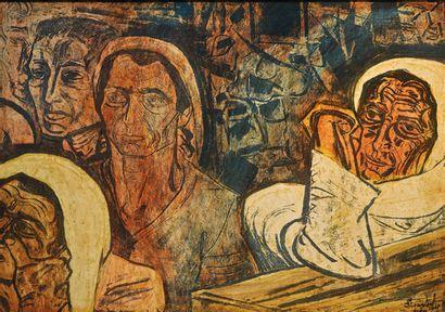 SEMERTZIDES, Valias (1911-1983) Femmes et...