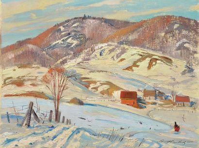 "BOUCHARD, Lorne Holland (1913-1978) BOUCHARD, Lorne Holland (1913-1978) ""Afternoon,..."