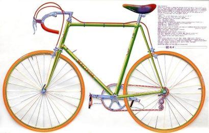 "CURNOE, Greg (1936-1992) CURNOE, Greg (1936-1992) ""Mariposa T.T."" Sérigraphie couleurs..."