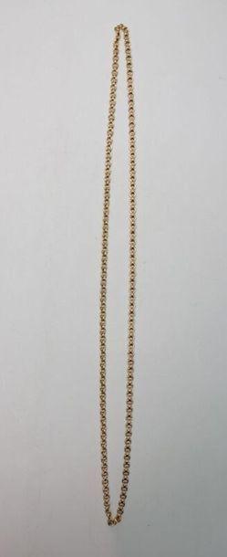 Sautoir en or jaune 54.6 g / L. 40 cm (sans...