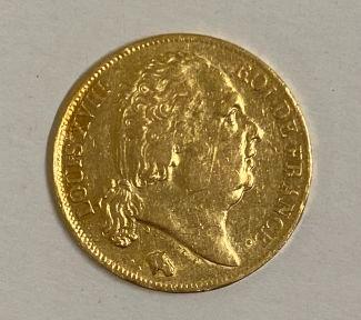 * Pièce de 20 Francs or Louis XVIII 1819...