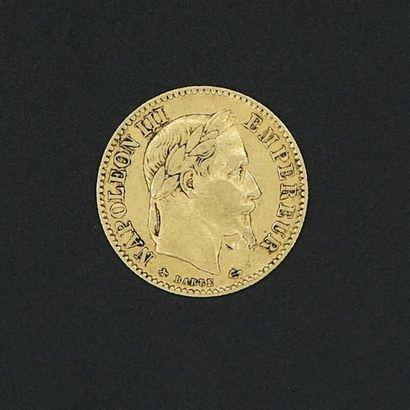 Pièce de 10 Francs Napoléon III 1868 A -...