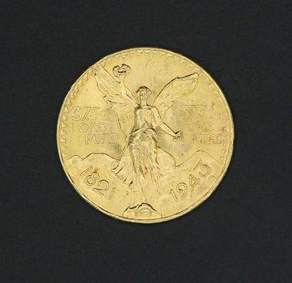 Pièce de 50 pesos en or - 46.1 g